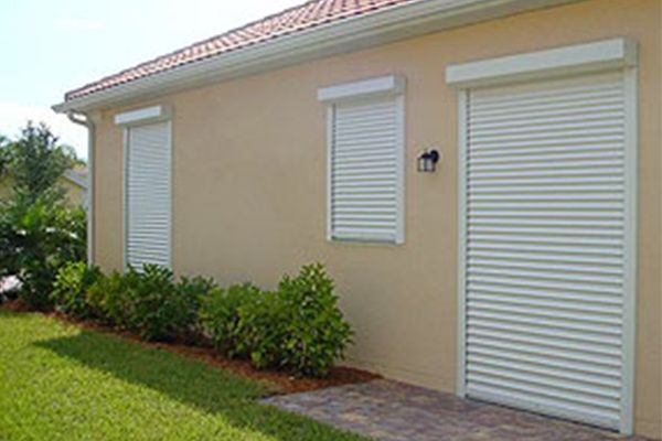 Install roll up shutters for hurricane season in Cayman