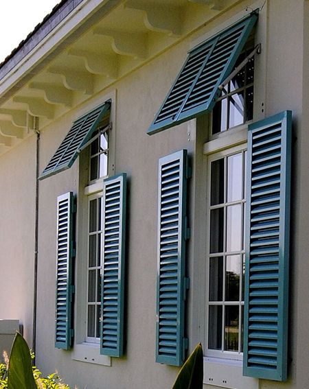 Install colonial shutters in Grand Cayman